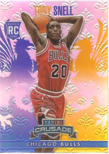 Tony Snell Crusade 13-14 #171 Rookie Card Blue Crusade Prizm Chicago Bulls
