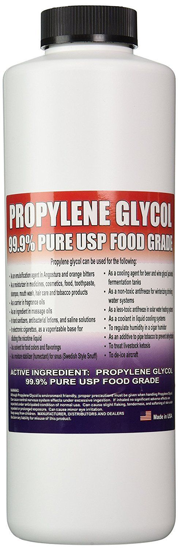 PROPYLENE GLYCOL PURE USP FOOD GRADE 32 oz