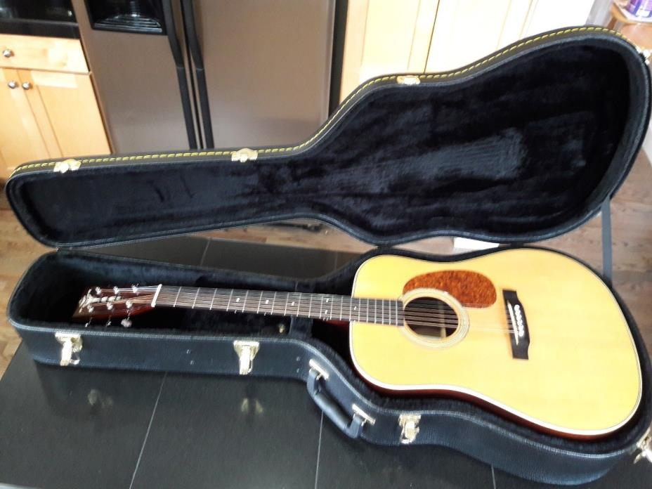 Recording King RD-127 D-28 Style Acoustic Guitar - Solid Spruce Solid Rosewood!