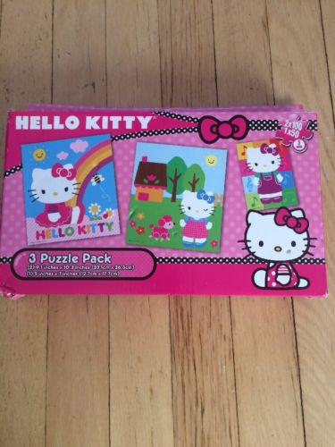 Cardinal Hello Kitty 3 Puzzle Pack