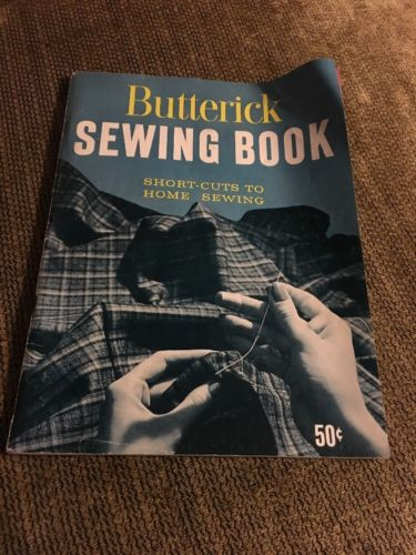 Vintage 1966 Butterick Sewing Book Short Cuts To Home Sewing Magazine Singer