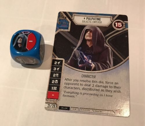 Star Wars Destiny - Spirit of Rebellion #11 - Palpatine