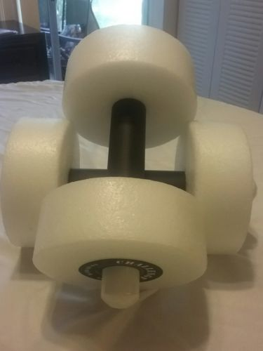 Challange PRO hand buoy or water weights color white