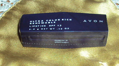 Avon Ultra Color Rich Renewable Lipstick SPF15 Khaki Full Size Single Sealed NEW