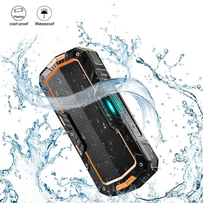 Portable Bluetooth Speakers 2X5W 2000mAh IPX5 Water Resistant Hands Free Outdoor
