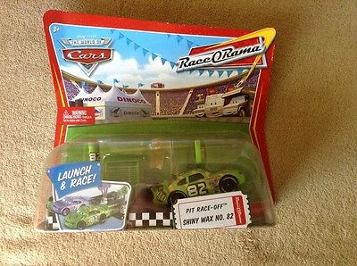Pixar Disney Cars Launch & Race SHINY WAX  #82 New