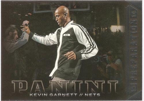 Kevin Garnett Panini 13-14 #12 Preparation Brooklyn Nets Boston Celtics