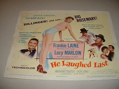 LOT OF TITLE CARDS-LOVE THAT BRUTE,KATHY O,GYPSY COLT,HE LAUGHED LAST