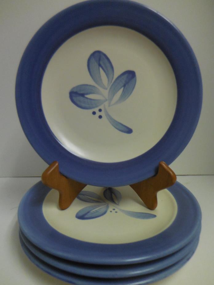 Pfaltzgraff VILLA FLORA    Salad/luncheon Plates   Set of 4   Mexico