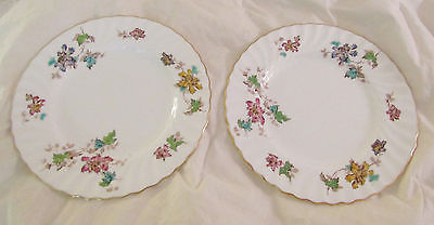 Mintons Vermont Luncheon Plates (2) 8 3/4