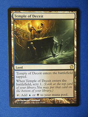 MtG 1x Temple of Deceit - Land  - Rare - Theros  NM  Magic & 10 NM cards