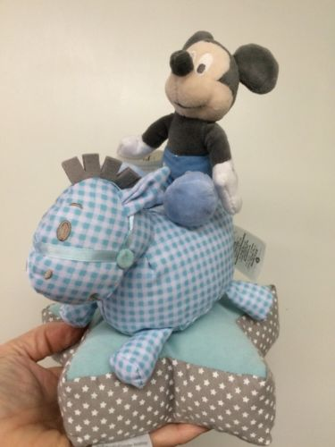 Disney Baby Mickey Mouse on Rocking Horse 10