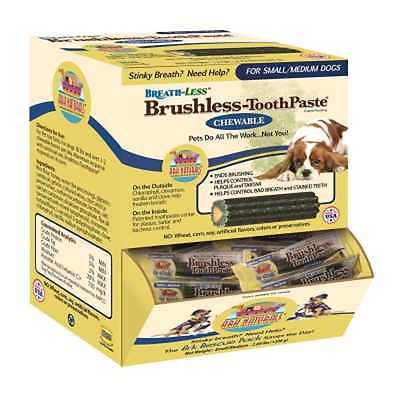 Ark Naturals Breath-Less Brushless-ToothPaste Small to Medium Dogs - (Case of 60