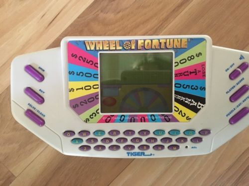 (1435) Vintage 1995 Electronic Wheel Of Fortune By Tiger