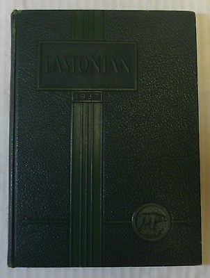1937 East High School Yearbook -