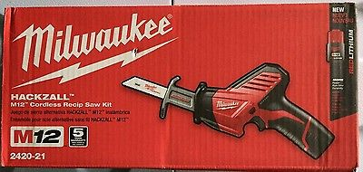Have one to sell? Sell now Milwaukee M12 12V Li-Ion Hackzall Reciprocating Saw