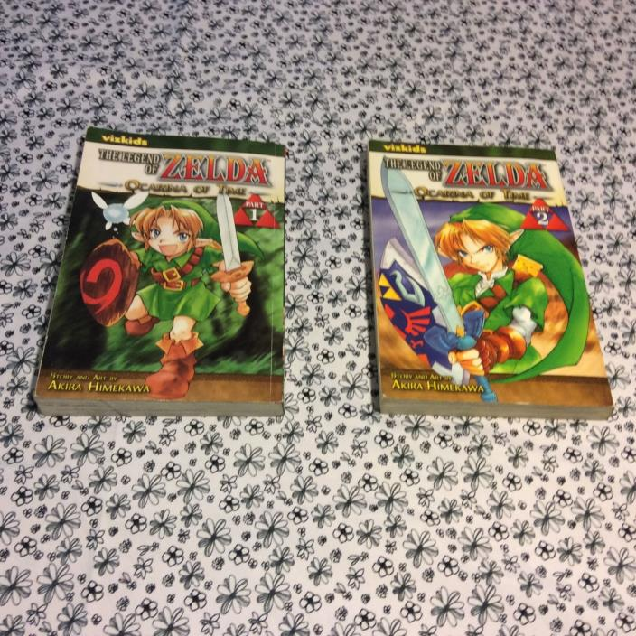 Vizkids  The Legend of Zelda Ocarina of Time Books
