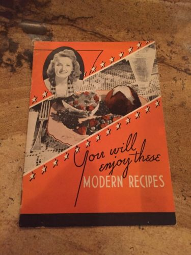 BD359 RARE 1940's Battle Creek Foods Michigan Special Gluten Free Recipe Booklet