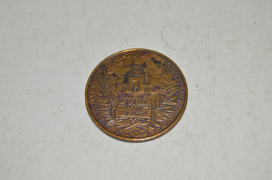 1915 Panama Pacific International Exposition San Francisco Eastside Beer Medal