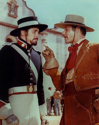 Guy Williams, Britt Lomond  - Zorro  -  8 1/2 X 11
