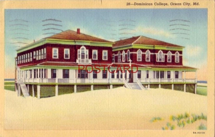 1943 DOMINICAN COLLEGE, OCEAN CITY, MD.