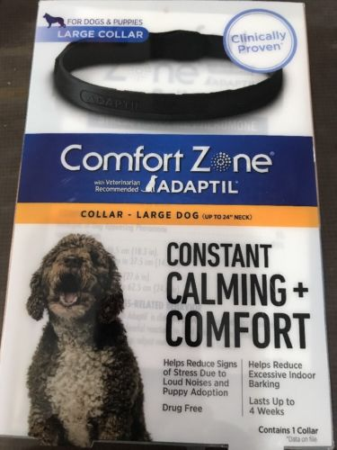 Comfort Zone Collar with Adaptil for Large Dog up to 24