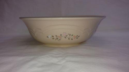 Pfaltzgraff REMEMBRANCE Vegetable Serving Bowl, Pink White Floral