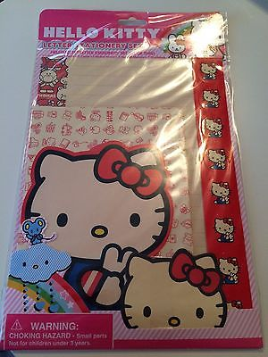 2010 Hello Kitty Red Friends Stationery Letter Set