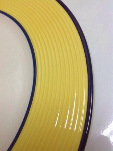 Dinner Plate(s) RIMINI Marks & Spencer St Michael Fine Earthenware Yellow, Italy