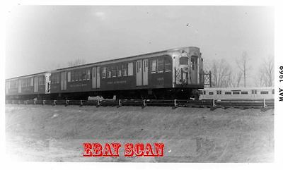 6H447 RP 1969 DELAWARE RIVER PORT AUTHORITY RAILROAD CAR #1015 LINDENWOLD NJ