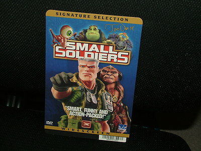 MOVIE BACKER CARD, SMALL SOLDIERS, EXCELLENT CONDITION