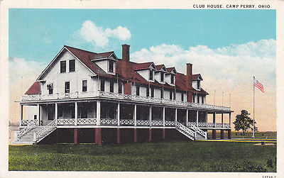 CAMP PERRY, Ohio, PU-1930; Club House