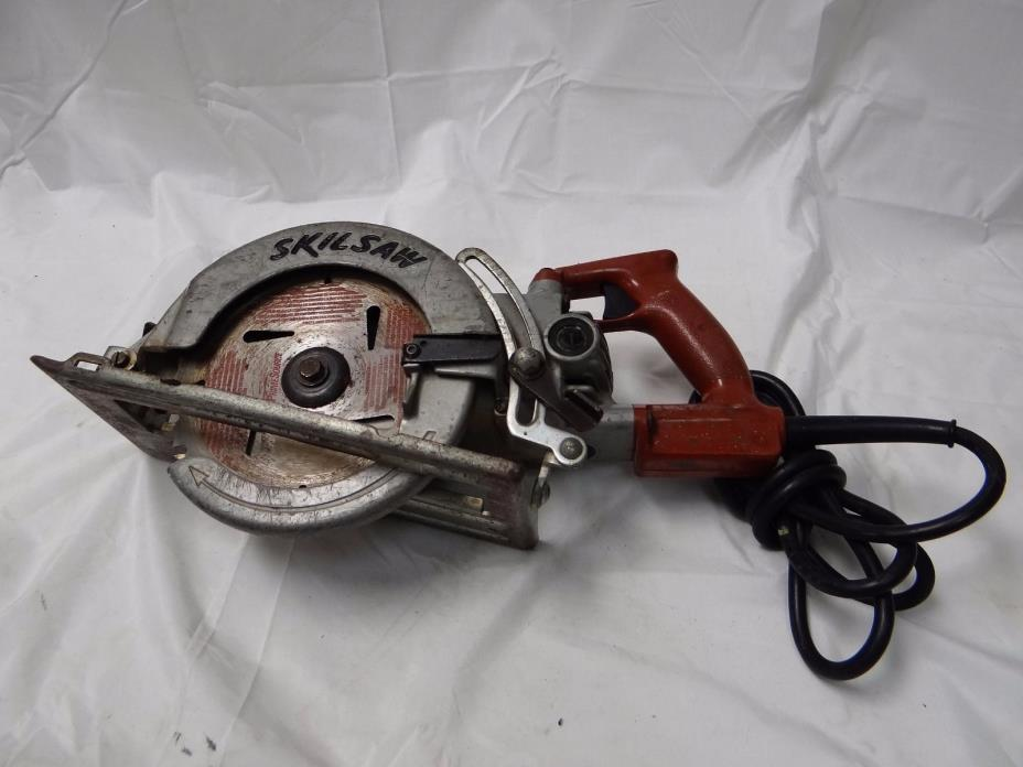 COMMERCIAL GRADE SKIL SAW HD77 HEAVY DUTY ELECTRIC WORM DRIVE CIRCULAR SAW