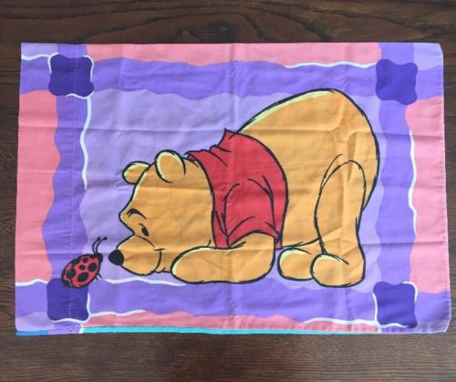 Vintage Disney Winnie The Pooh Tigger Double Sided Pillowcase One Standard Size