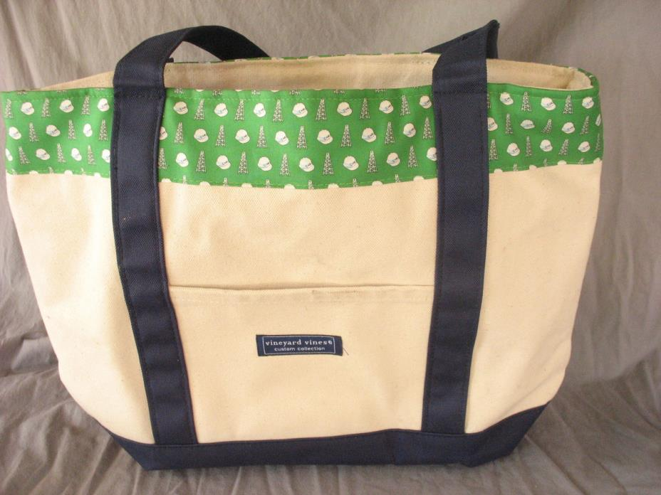 Vineyard Vines Chesapeake Energy Canvas Tote Bag Oilfield Petroleum