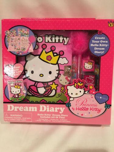 NEW PRINCESS BY HELLO KITTY DREAM DIARY