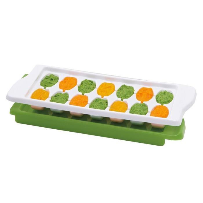 OXO Tot Baby Food Freezer Tray with Protective Cover Freeze Cubes Top Quality 1