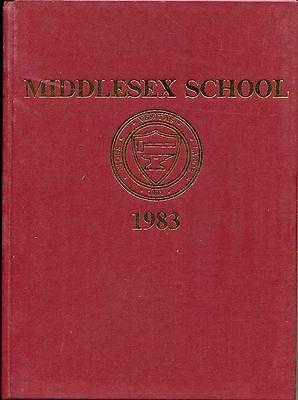 1983 Original Yearbook, Middlesex School, Concord, Mass.
