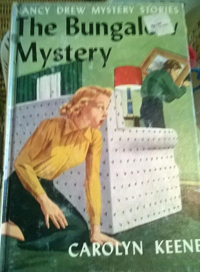 Nancy Drew #3 The Bungalow Mystery Blue End Pages Carolyn Keene PC
