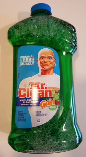 Mr. Clean With Gain Multi Surface Cleaner Original Scent 40 fl oz Value Size