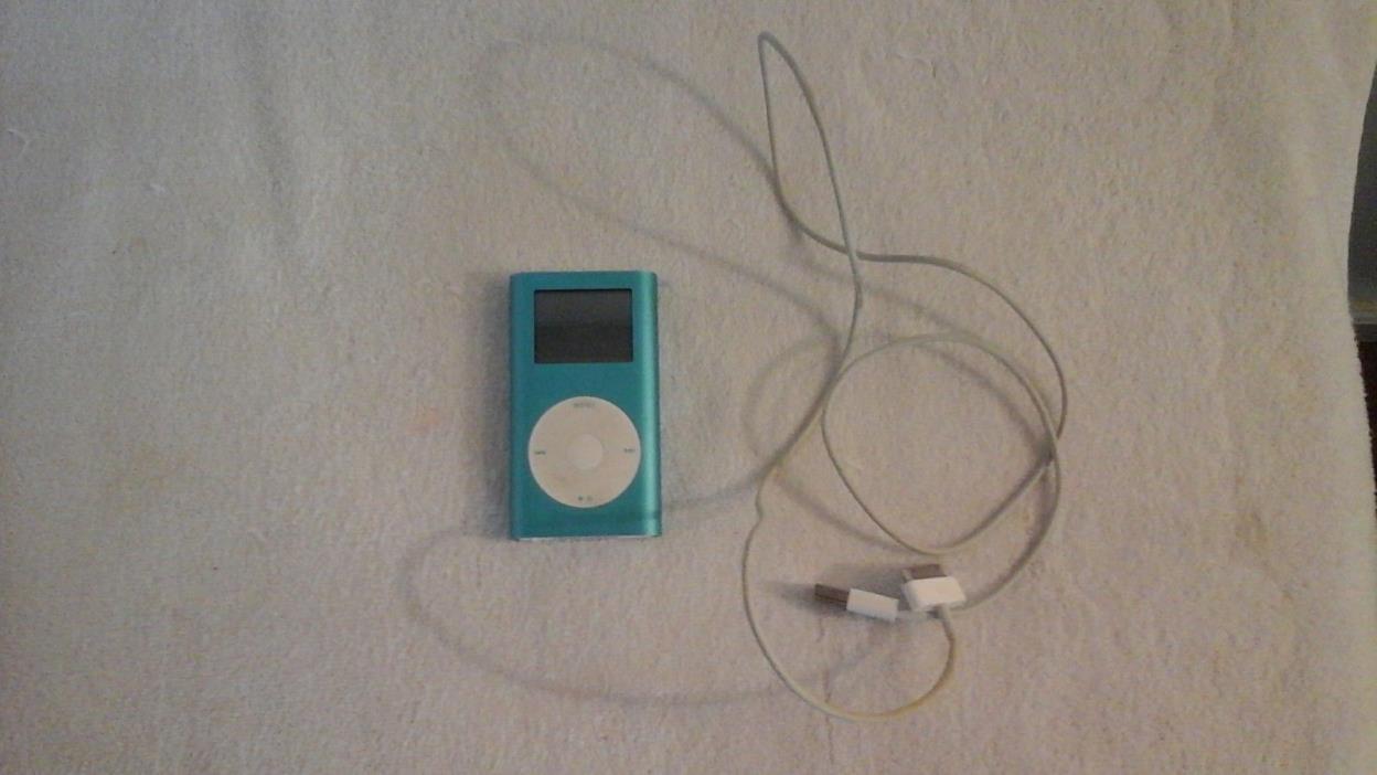 Apple iPod Mini 2nd Generation Aqua Blue (4GB)