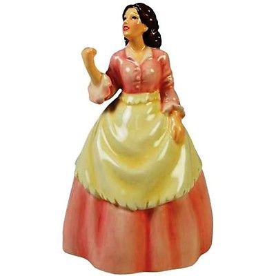 GONE WITH THE WIND MOVIE SCARLETT CERAMIC BELL WG D 21905 BA