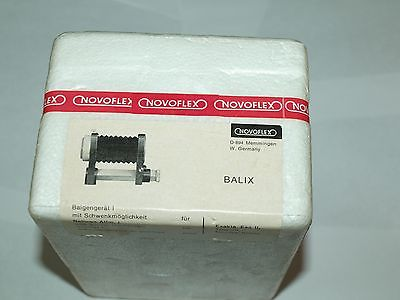 NEW FACTORY SEALED BOX NOVOFLEX EXTENTION BELLOWS BALIX for EXAKTA & TOPCON D RE