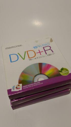 Memorex dvd-r 10 pack lot