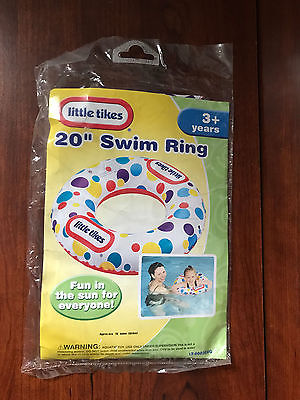 Little Tikes inflatable swim ring  20