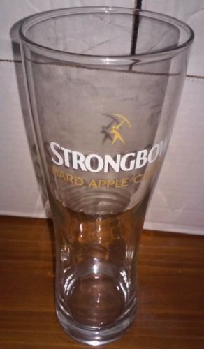 Strongbow Hard Apple Ciders Glass - 16oz Pilsner Glasses  - NEW Bar Ware