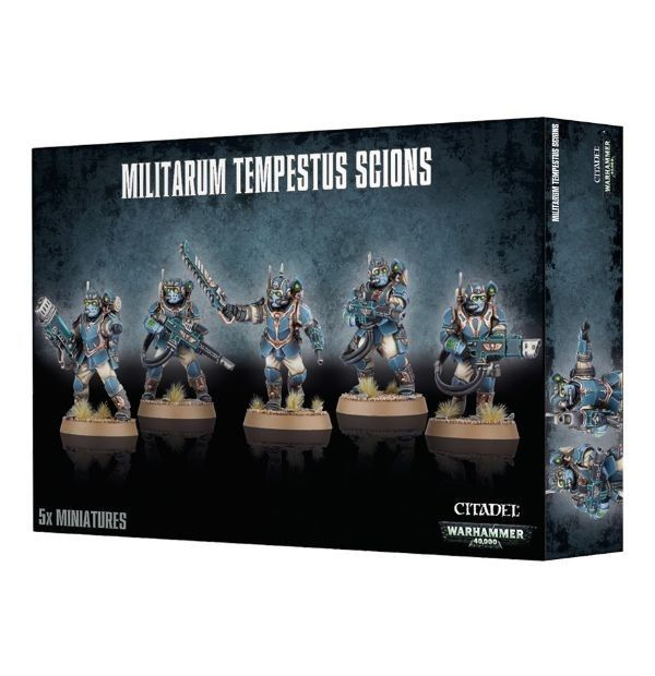 x1 Warhammer 40k Militarium Tempestus Scions SEALED