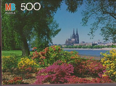 Vtg JIGSAW PUZZLE Croxley Rhine River #4611-6 New SEALED 1990 500pcs New