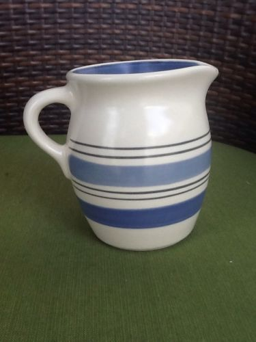 Pfaltzgraff RIO Creamer 920705 Blue stripes