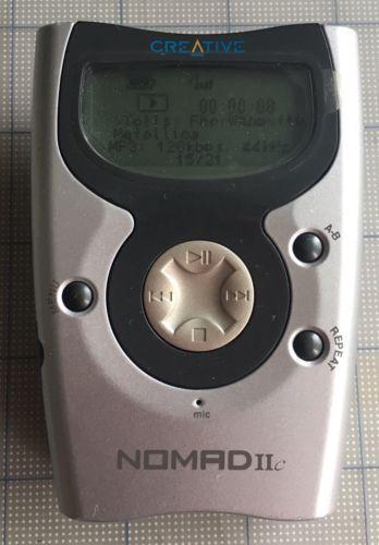 Creative Nomad IIc Gray/Silver ( 128 MB ) Digital Media Player 2c